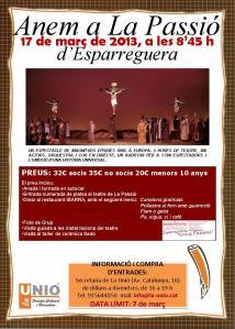 cartell LA PASSIÓ