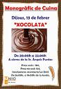 monogràfic xocolata